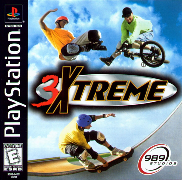3Xtreme [U] Front Cover